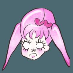 ピンクガール[少女マンガ風]スタンダード02