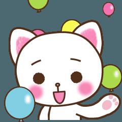 動く!かわいいネコちゃん★よく使う言葉編