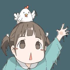 Nemechan and chicken