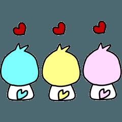 3羽の小鳥☆LOVE☆Reoの友達