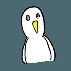 黒歴史を抱えた白い鳥