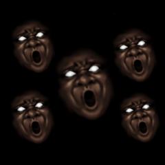 暗闇の黒人2
