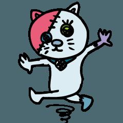 踊る化け猫!ボタン【第一怪】byマメズ