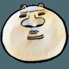人っぽいクマとお友達(山口弁ver.)