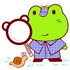 [LINEスタンプ] 蛙探偵ケロ・ホームズ (1)