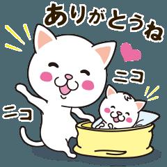 [LINEスタンプ] 連絡くれてありがとう (1)