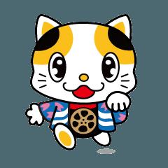 門真市 元祖まねき猫「ガラスケ」