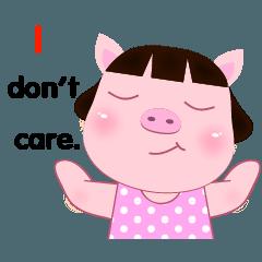 PookPik Pig Girl (english)