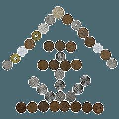 お金スタンプ。4