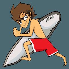 サーフィン楽しんでる?