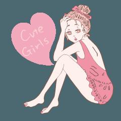 Cute Girls Fullfill