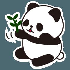 かわいすぎるパンダのスタンプたち