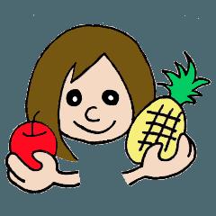 シンプル女子(日常会話)3