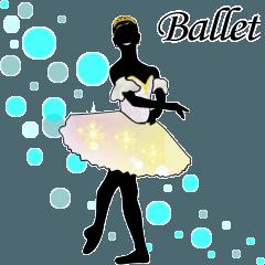 美しのバレエ シルエット.*ballet*.3幕