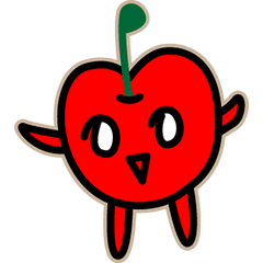 Apo-chan of Apple country