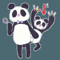 アイドル好きなパンダの半田さん