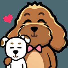 """""""Sara"""" Cute Dog"""