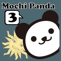 もちパンダのヨガポーズ帖3