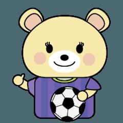 広島に住むサッカー好きクマ