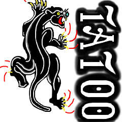 tatoo風デザインスタンプ