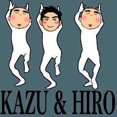 カズ&ヒロ(動く!)
