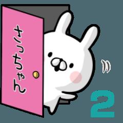 【さっちゃん】専用名前ウサギ2