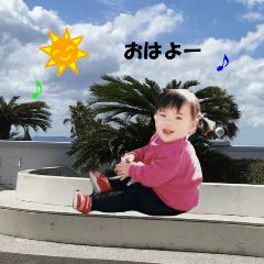 子供写真スタンプ