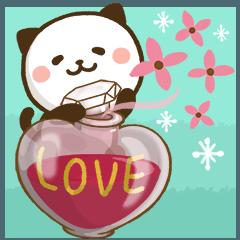 大人可愛い♪パンダねこ 敬語2