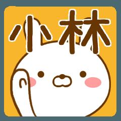 【小林/こばやし/コバヤシ】が使うスタンプ