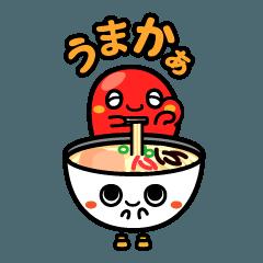 """""""博多弁スタンプ"""" メンタとトンコちゃん"""
