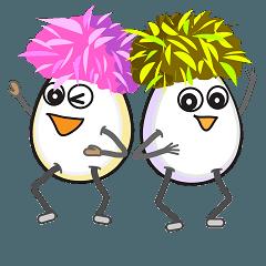 <クレイジー卵> マグロー と ワカオ
