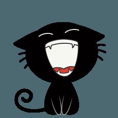 Black Cat Animated 2