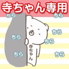 寺ちゃん専用(名前:苗字スタンプ)