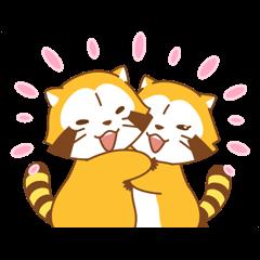 ラスカル&リリィ☆ラブラブカップル