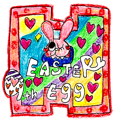 ♡EASTER Egg♡by♡HAPPY HAPPY♡9th