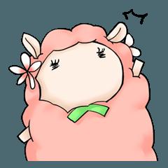 羊のジンくん&ラムちゃんスタンプ2