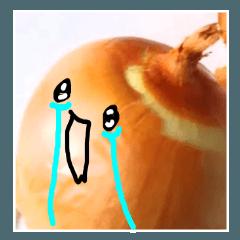 [LINEスタンプ] 【実写】泣きのタマネギ (1)