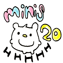 """minis"" byHAPPY!!!-HAPPY!!!20th"