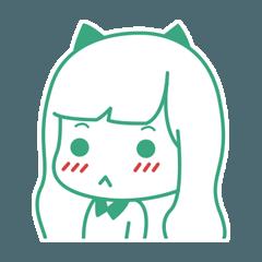 Meow Girl Side face