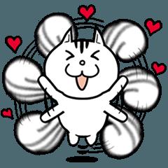 [LINEスタンプ] 白リスの「しーりー」スタンプ (1)
