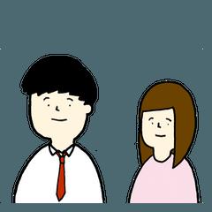 日男台女国際恋愛生活 日本語版