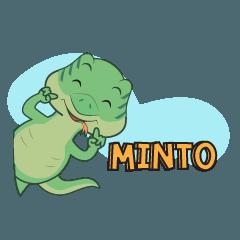 """Minto"" the Monitor Lizard"