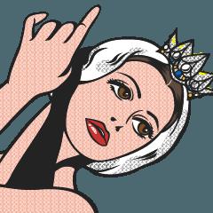 オデット姫の顔