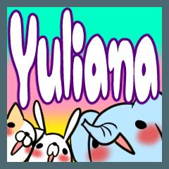 YULIANA's exclusive sticker