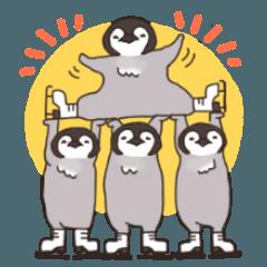 雪国の動物スケーター