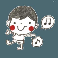 [LINEスタンプ] ほのぼの子どもシリーズ2