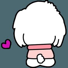 I am Reo☆かわいい白い犬