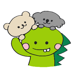 Dinosaur and animals