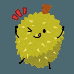 Durian.Sticker