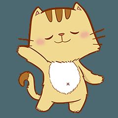 Brown Funny Cat (EN)
